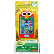 Teléfono Habla Con Elmo Plaza Sesamo Fisher Price