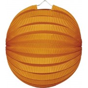 Lampion rond oranje