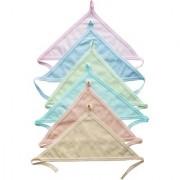 Tahiro MultiColour Cotton Langot For Kids - Pack Of 6