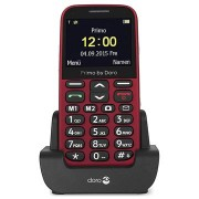 Doro Primo 366 - 0.3MP, FM Radio, Bluetooth - Rood