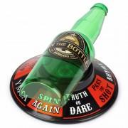 Merkloos Drankspel/drinkspel flesje draaien