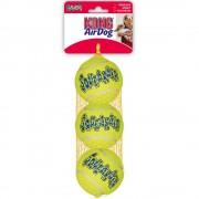 Balles KONG AirDog Squeaker pour chien - 2 balles KONG Air Squeaker - taille L