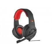 Trust Auscultadores Gaming 310 (Com fio - Com Microfone - Preto)