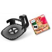 Philips Backeinsatz HD9953/00 Pizzablech, Zubehör für Airfryer XXL: HD963X,...