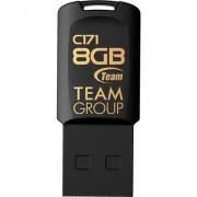 USB памет Team Group C171, 8GB, USB 2.0, Черен