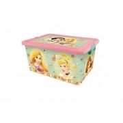 Caja Para Juguetes Disney Princesas - Rosa