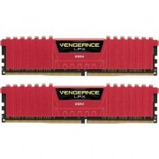 Memorie Corsair Vengeance LPX 16GB (2x8GB) DIMM, DDR4, 3200 MHz, CL 16, 1.35V, XMP 2.0, Red