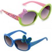 Amour Oval, Rectangular Sunglasses(For Boys & Girls)