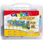 Cutie cu seturi pentru colorat CARIOCA Play with colours