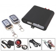 Vehicle GSM alarm and GPS tracker