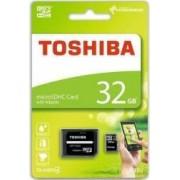 Card de memorie Toshiba M102 microSDHC 32GB Clasa 4 + Adaptor SD