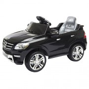 Costzon Mercedes Benz ML350 6V Ride On Car Electric Kids Car with Parental Remote Control, LED Headlights, Horn, MP3 Input, Black