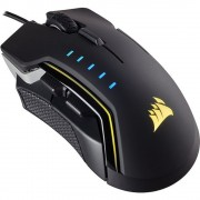 Mouse, Corsair Gaming™ GLAIVE RGB, USB, Black (CH-9302111-EU)