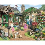 White Mountain Puzzles The Garden Shop - 1000 Piece Jigsaw Puzzle