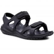 Crocs Sandały CROCS - Swiftwater River Sandal M 203965 Black/Black