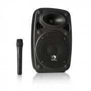 "Auna Streetstar 10 Mobile equipo PA 8"" (20cm) Woofer Micro UHF 200 W máx. (Sky2-199.506)"