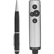 "Kensington ""Presentator Kensington PowerPoint K75241EU, bereik 15 m, Micro-USB-kabel, virtuele aanwijzer & markeerstift"""