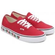 Vans AUTHENTIC Sneakers For Men(Red)