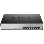 D-Link Switch Ethernet Gigabit, 10/100/1000Mbit/s, 8 porte, Desktop, Sì, DGS-1008MP