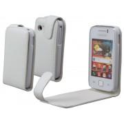 Housse Etui Blanc Samsung Galaxy Y S5360