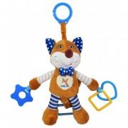 Baby Mix vibráló róka rágókával barna színben