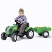 Tractor cu Remorca Verde