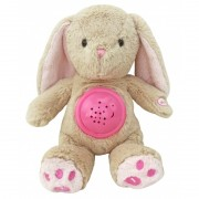 Pink plüssnyuszi kivetítővel a Baby Mix-től