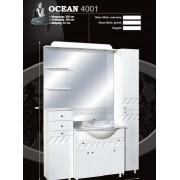 Guido Ocean 4001 komplett bútor sima tükörrel gránitlappal
