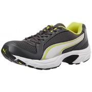 Puma Men's BolsterDP Dark Shadow, Puma Silver and Blazing Yellow Running Shoes - 8 UK/India (42 EU)