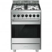 SMEG B6gmxi9 Cucina Libera Installazione Piano Cottura A Gas 4fuochi Classe A Ac
