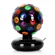 Disco-Ball Efeito de luz para festas 7W Preto