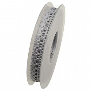 Szalag Valerie - Lurex textil 15mm x 10m ezüst