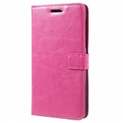 Nokia 6 Classic Wallet Case - Hot Pink