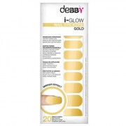 Debby I-Glow Nail Stickers Gold N 1