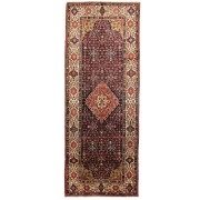 Nain Trading Alfombra Oriental Farahan 409x161 Alfombras Beige/Marrón (Lana, Persia/Irán, Anudado a mano)