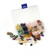 AST Works 10Kinds Stone Natural Quartz Crystal Rock Chips Energy Crystals MineralSpecimen#