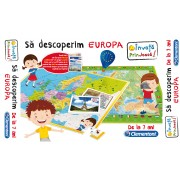 Joc educativ - Sa Descoperim Europa - CL60438
