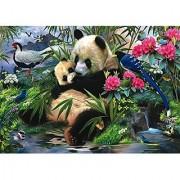Trefl Giant Panda 1000-Piece Jigsaw Puzzle