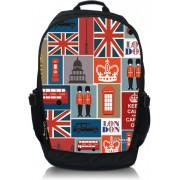 "Laptop rugzak 15,6"" Londen patroon - Sleevy"