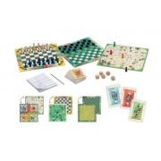 DJECO Zestaw gier dla dzieci 20 w 1 - CLASSIC BOX, klasyczne gry planszowe, DJ05219