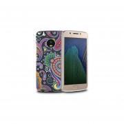 Funda Para Celular Motorola Moto G5 Plus - Paisley Colores