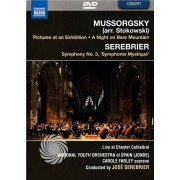 Video Delta MUSSORGSKY - PICTURES AT AN EXHIBITION / SEREBRIER - SYMPHONY N.3 - DVD