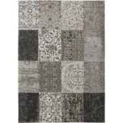 Louis de Poortere Vloerkleed Vintage Black White 280 x 360 cm
