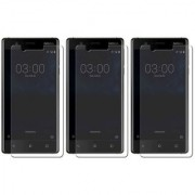 Mobik Tempered Glass for Nokia 3 - Pack of 3