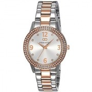 Gio Collection Analog (SILVER) Dial Womens Watch - G2013-55