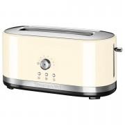 KitchenAid 5KMT4116BAC Manual Control 4 Slice Toaster - Almond Cream