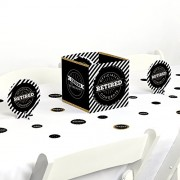 Big Dot of Happiness Happy Retirement - Party Centerpiece & Table Decoration Kit