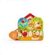Hape Infant Board Book Baby's Farm Animal