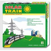Solar Powered Toy Train DIY educational kit, Easy to build Bullet Train Science Project Kit Do it yourself Kids gift item