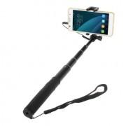 Shop4 - Compacte Selfiestick - Zwart